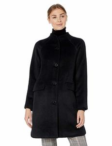 9. Amazon Brand-Lark & Ro Women's Funnel Neck Coat