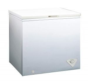#9. Midea Single Door Chest Freezer