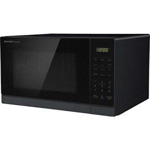 #9. Sharp 0.7-cu ft 700-Watt Countertop Microwave