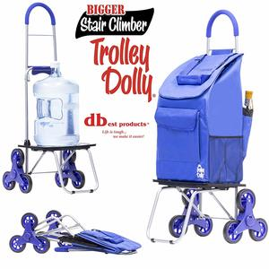 9. dbest products Stair Climber Bigger Trolley Dolly