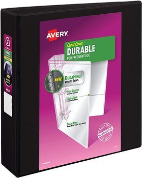 1. Avery Binders for College