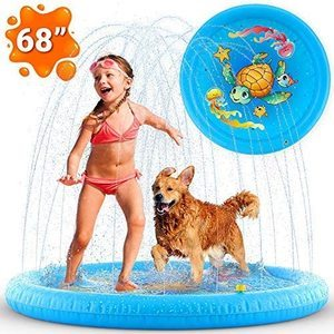 1. Inflatable Splash Pad Sprinkler for kids and toddlers