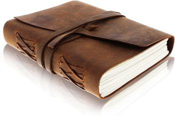 1. Moonster Leather Notebook