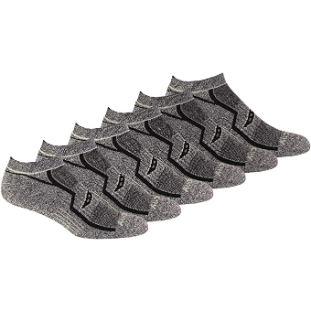 10. Saucony Men's Multi-Pack Comfort Fit No-Show Socks