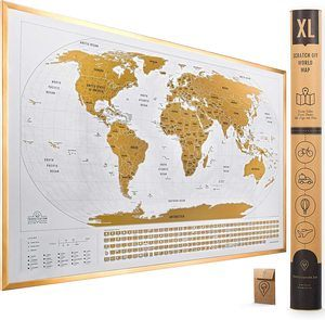 10. Travelization Scratch Off Maps