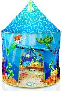 10. USA Toyz Mermaid Kids Tent, Indoor Playhouse