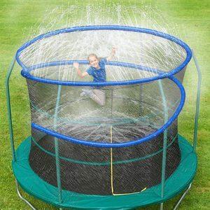 2. ARTBECK Thicken Trampoline Sprinkler, Blue
