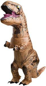 2. Rubie's Adult Official Jurassic World Inflatable Dinosaur Costume