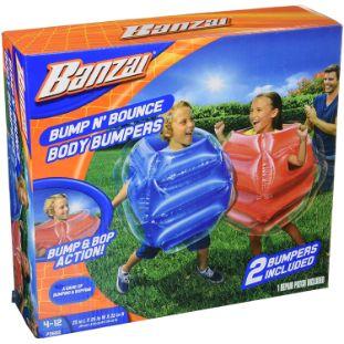 3. BANZAI Bump N Bounce Body Bumpers N