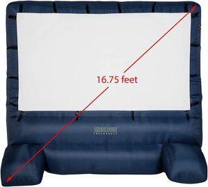 3. Gemmy 39127-32 - Airblown - Movie Screen