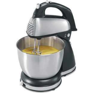 3. Hamilton Beach Classic Hand and Stand Mixer
