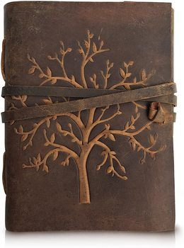 3. Moonster Leather Notebook