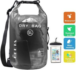 #3. Waterproof lightweight storage dry bag for women, men backpack.