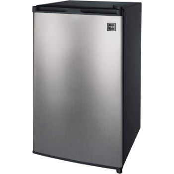 4. RCA RFR322-B 3.2 Cu Ft Single Door Mini Fridge with Freezer