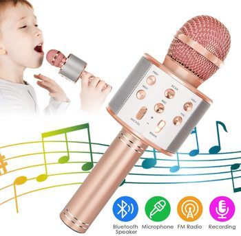 5. KIDWILL Bluetooth Microphones