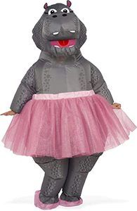 5. Rubie's Costume Co - Hippo Inflatable Adult Costume