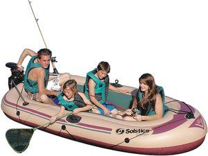 5. Solstice by Swimline Voyager 6-Person Boat