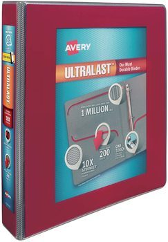 6. Avery 400 Sheets Binders for College