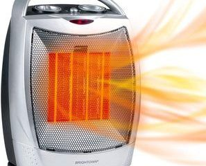 6. Brightown Portable Battery Powered Heaters