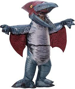 6. Rubie's Adult Official Jurassic World Inflatable Dinosaur Costume
