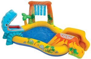 7. Intex Dinosaur Inflatable Play Center, for Ages 2+
