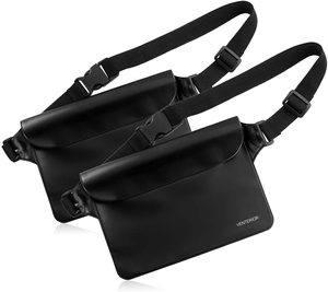#7. Venterior Waterproof pouch 2-pack with adjustable waist
