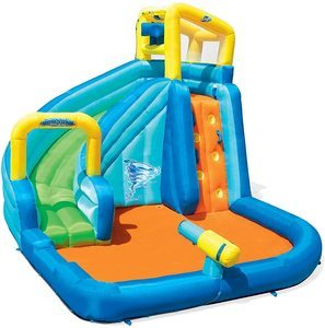 8. Bestway H2OGO! Turbo Splash Mega Water Park