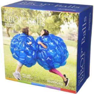 8. HearthSong 36 Inflatable Bumper Wearable Balls