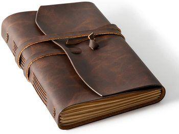 8. Homesure Compact Leather Notebooks