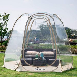 9. Alvantor Winter Screen House Room Camping Tent