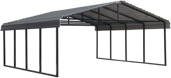 9. Arrow 20' x 20' Metal Carport Kits