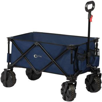 9. PORTAL Beach Cart with Cup Holders