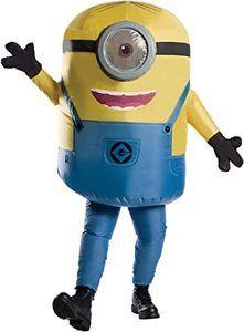 9. Rubie's Adult Inflatable Minion Stuart Costume