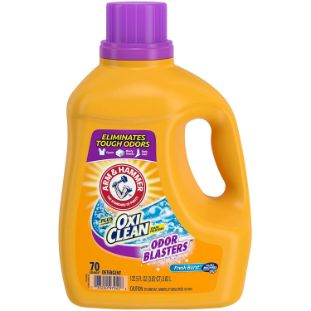 1. Arm & Hammer Plus OxiClean Odor Blasters Laundry Detergent