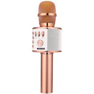 1. BONAOK 3-in-1 Bluetooth Karaoke Microphone