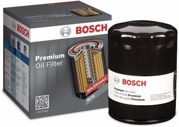 1. Best Car Oil Filter - Bosch 3323 Premium FILTECH Oil Filter