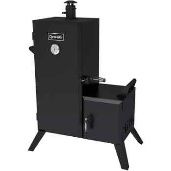 1. Dyna-Glo DGO1176BDC-D Vertical Offset Charcoal Smoker