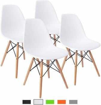 1. Furmax Pre Assembled Modern Style Dining Chair