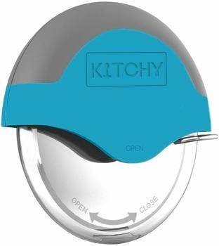 1. Kitchy Pizza Cutter Wheel with Protective Blade Guard