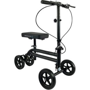 1. KneeRover Economy Knee Scooter, Matte Black