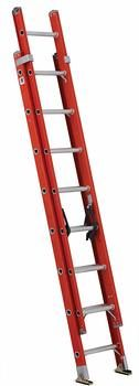 1. Louisville Ladder FE3216 Extension Ladder 300-Pound Capacity
