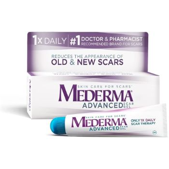 1. Mederma Advanced Scar Gel - 1x Daily