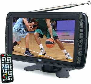 1. Tyler TTV701 Best Portable TVs 7-inches Portable Widescreen LCD TV with Detachable Antennas