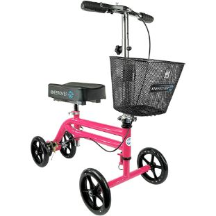 10. KneeRover Steerable Knee Scooter, Hot Pink