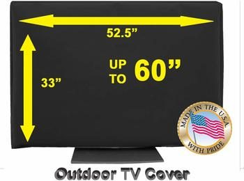 10. OUTDOOR TV COVER 55-inch