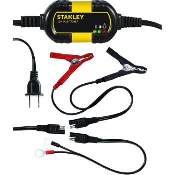 10. STANLEY BM1S Fully Automatic 1 Amp 12V Battery Charger