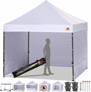 14. ABCCANOPY Canopy Tent Popup Canopy With 6 Removable Sidewalls