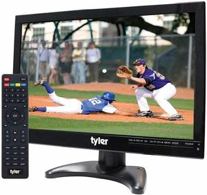 14. Tyler 14-inch Portable Battery-Powered LCD HD TV