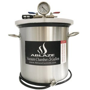 17. ABLAZE 5 Gallon Gal Vacuum Chamber