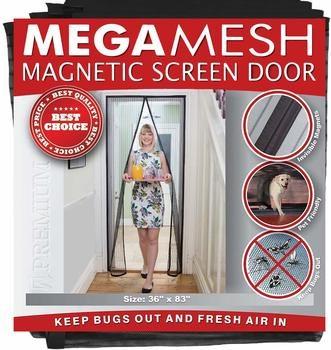 17. Magnetic Screen Door